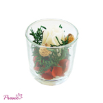 Glass pot pourri